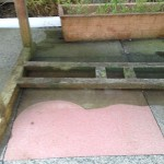 pressure washing a patio in morecambe