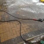 block paving power washing