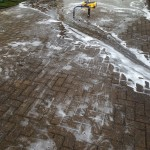 Heysham patio cleaning project